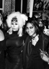 Kris Jenner (left) with Gloria Carter (Jay Z's mom — right) at Tina Knowles's 60th Birthday Party Masquerade Ball