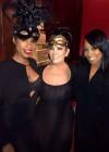 Jennifer Hudson, Kris Jenner and Monica at Tina Knowles's 60th Birthday Party Masquerade Ball