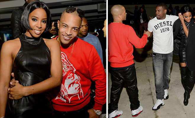 Kelly Rowland Parties In Atlanta With T I Amp Fianc 233 Tim