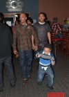 T.I. and his sons Messiah & Major Harris at Messiah's 14th birthday bowling party