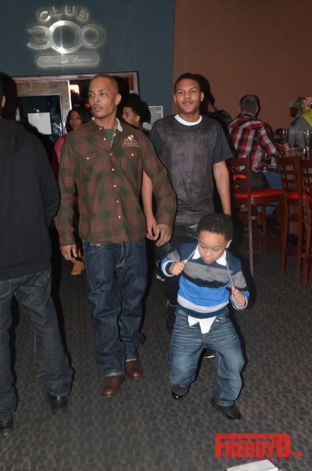 ti and his sons messiah amp major harris at messiahs 14th