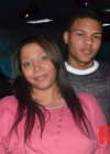 T.I.'s son Messiah Harris with his mother LaShon at Messiah's 14th birthday bowling party