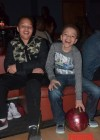 Domani & King Harris at Messiah's 14th birthday bowling party