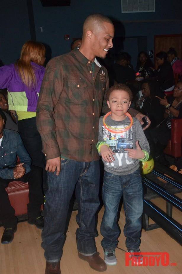 ti and his son king harris at messiahs 14th birthday