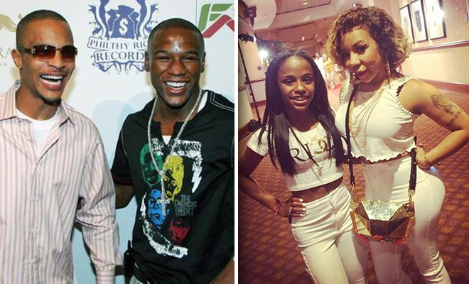 T.I. and Floyd Mayweather, Jr. Reportedly Fought Over Tiny
