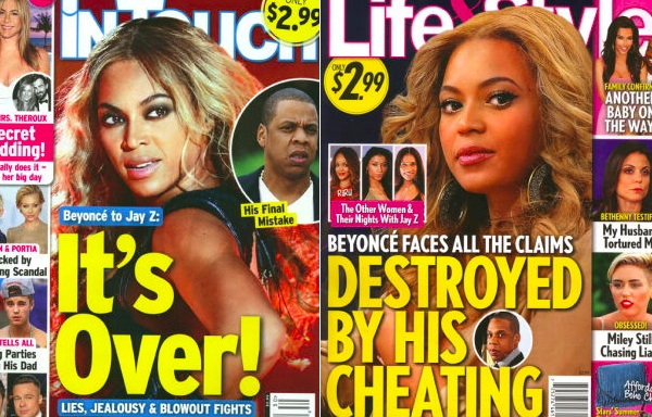Jay Z & Beyoncé's Marriage Reportedly Falling Apart Because