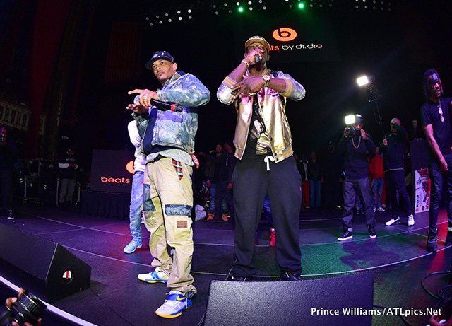 T.I. & OG Maco performing at 5th Annual Street Execs Christmas Concert in Atlanta
