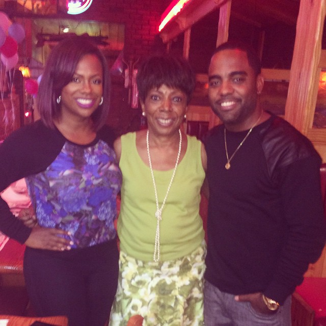 Kandi Burruss, Miss Sharon, Todd Tucker
