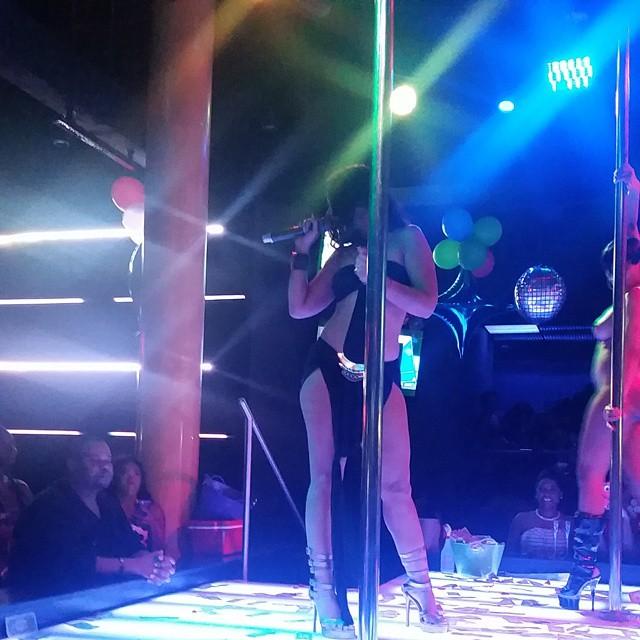 Mya Clowned On Social Media Over Random Strip Club Performance