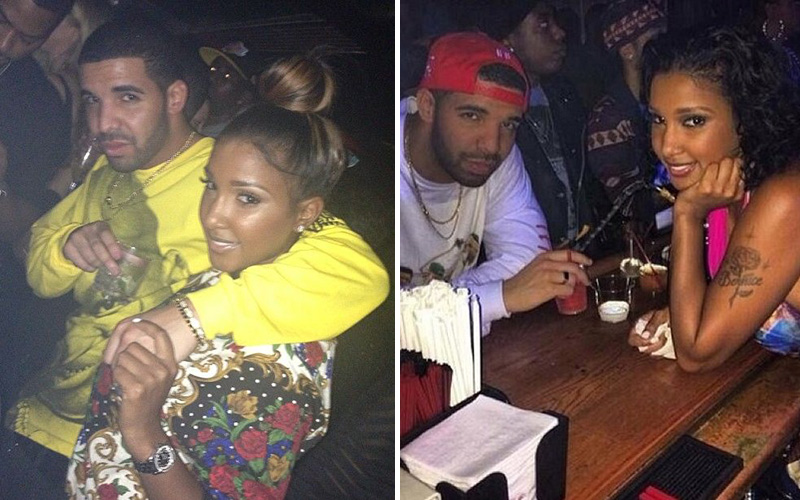 drake spotted showing pda with new girlfriend bernice