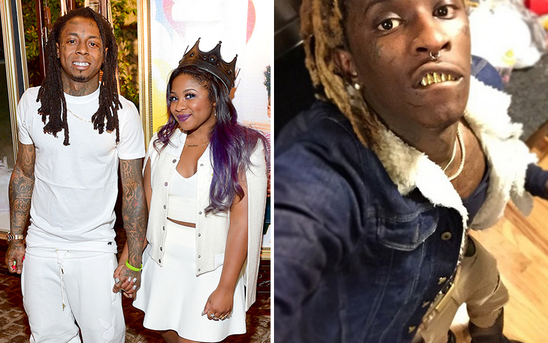 Lil Wayne's Daughter Reginae Calls Out Young Thug Over ...