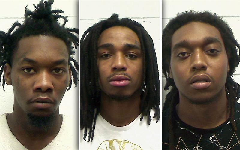 Mugshot Madness All 3 Migos Arrested For Felony Gun Drug