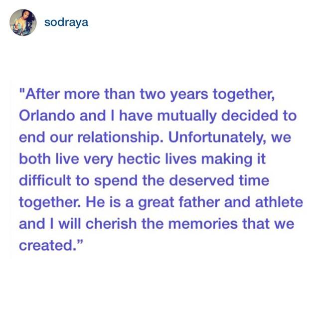 Orlando scandrick dating draya