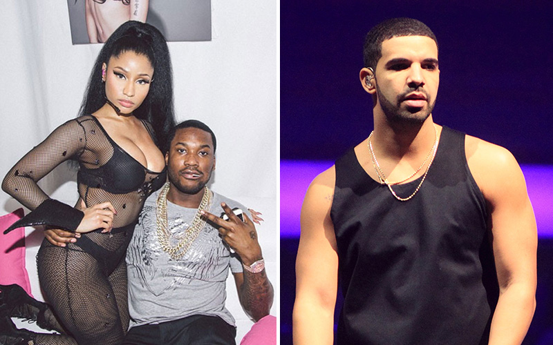 meek mill gives special apology shout out to nicki minaj for drake