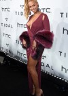 Beyoncé on the red carpet of TIDAL x 10/20 Charity Concert in New York