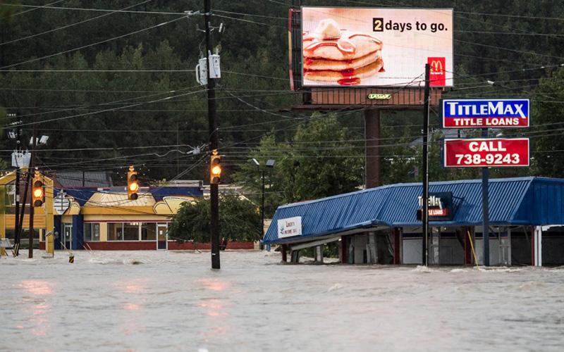 Devastating Photos Show Hurricane Joaquin's Impact to South Carolina