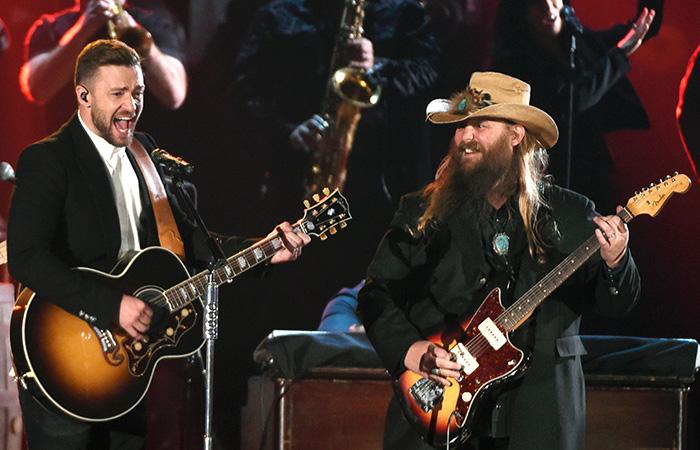 Justin Timberlake & Chris Stapleton Killed It at the 2015 CMAs