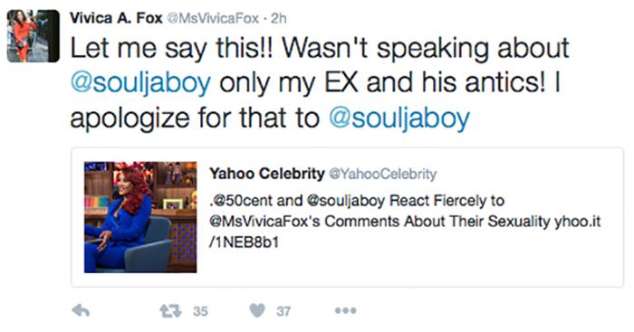 vivica-apology-soulja-boy-tweet