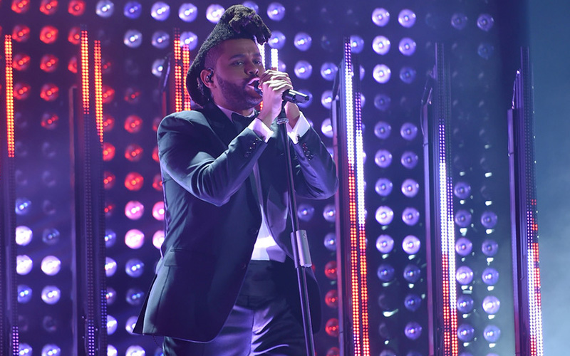 the-weeknd-grammys-performance