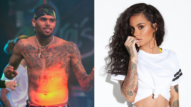 """65a0eced4fe Chris Brown Has No Sympathy for Kehlani s Suicide Attempt  """"Stop Flexing  for the Gram!"""""""