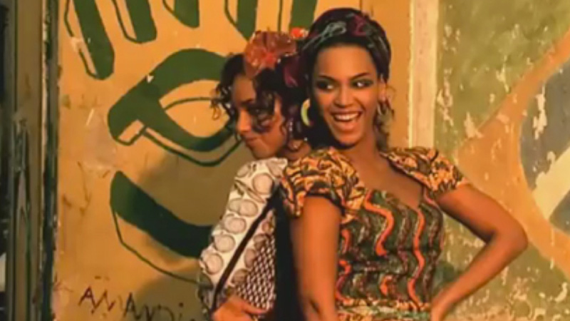 beyonce and alicia keys put it in a love song video