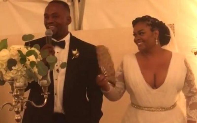 Jill Scott Secretly Weds Mystery Man in Nashville