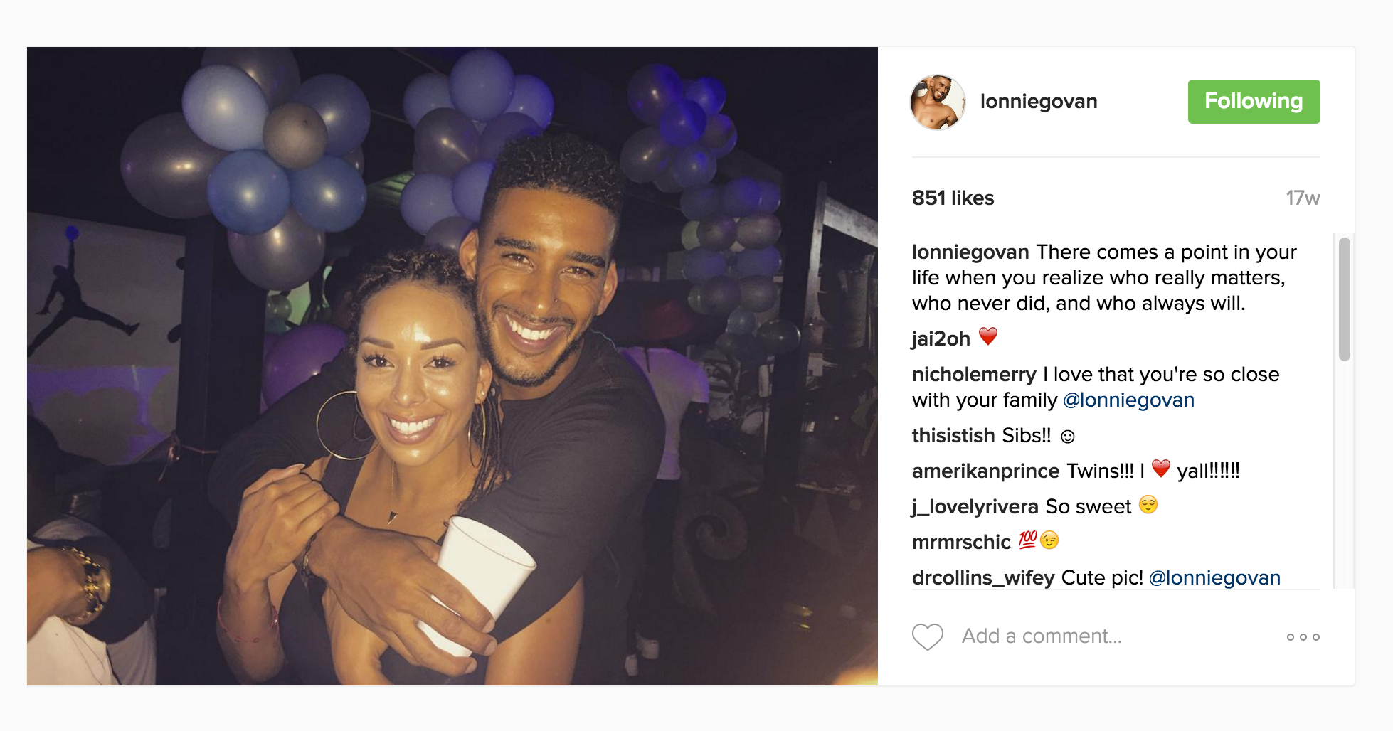 Lonnie and Gloria Govan