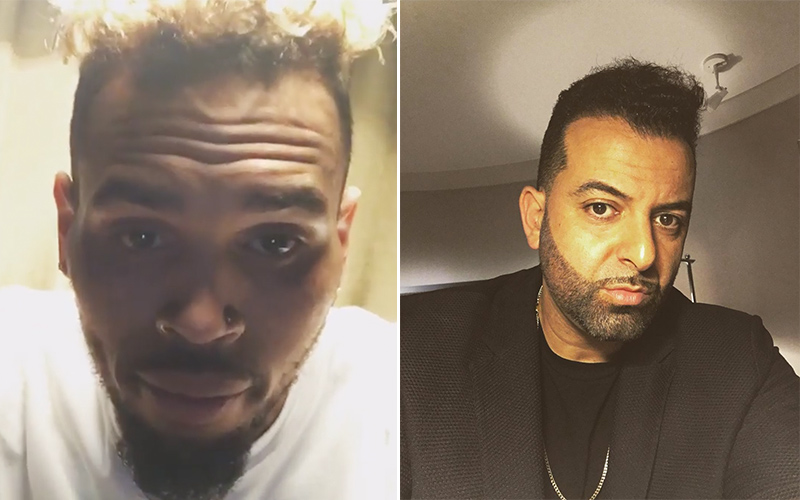 chris brown sued by former manager mike g for assault after dramatic