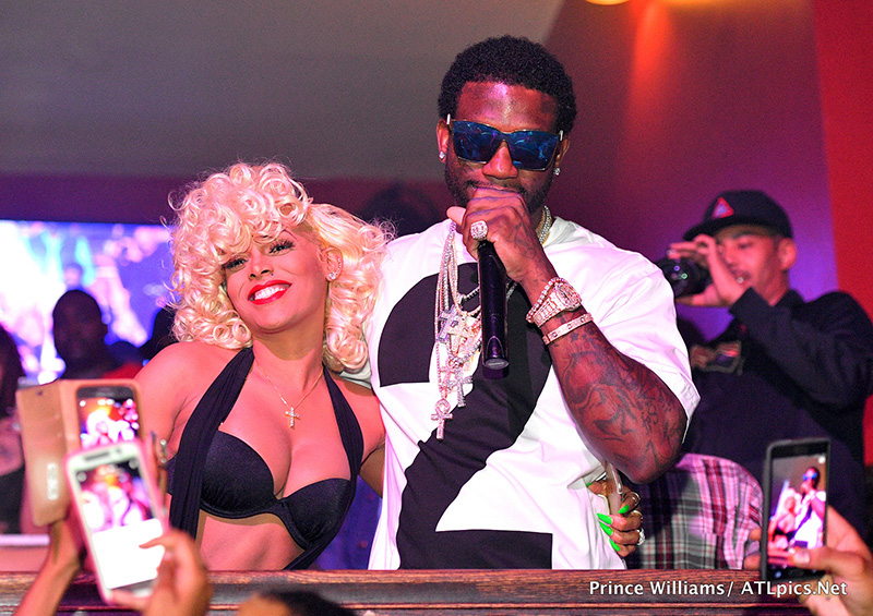 Gucci Mane Welcome Home Party at The Mansion Elan in Atlanta