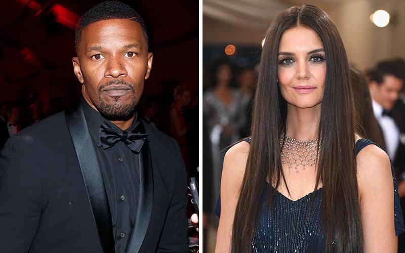 Jamie Foxx Is Really Boo'd Up with Tom Cruise's Ex-Wife ... Katie Holmes Jamie Foxx