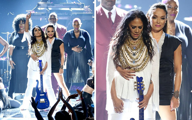 sheila e joined by princes exwife mayte garcia during