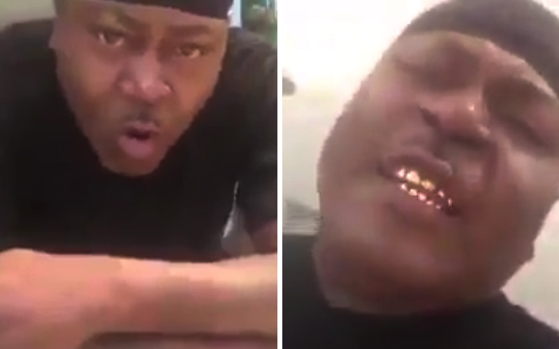 Trick Daddy Threatens Woman, Spits at Camera in Facebook Live Video