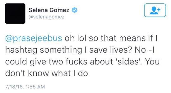 Selena-Tweet