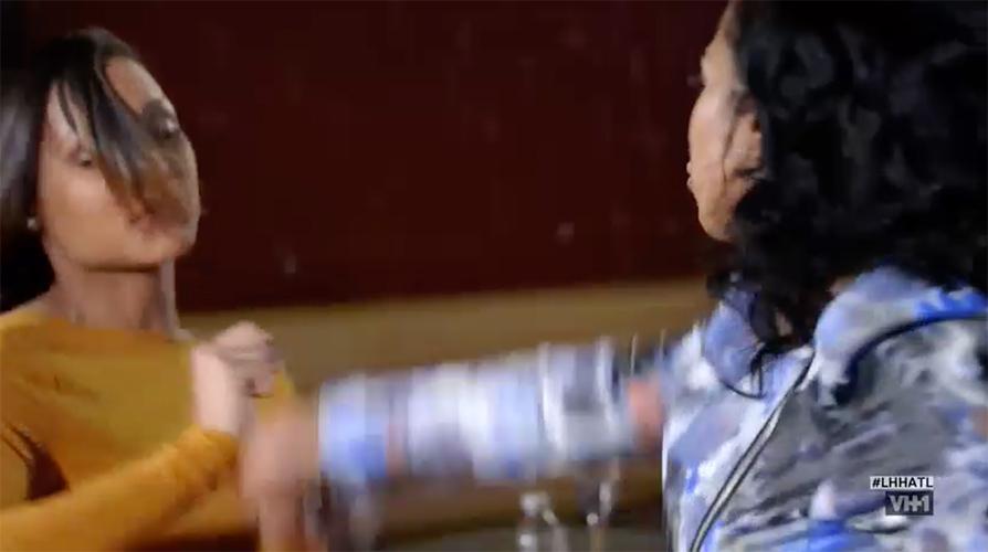 karlie-indiya-fight