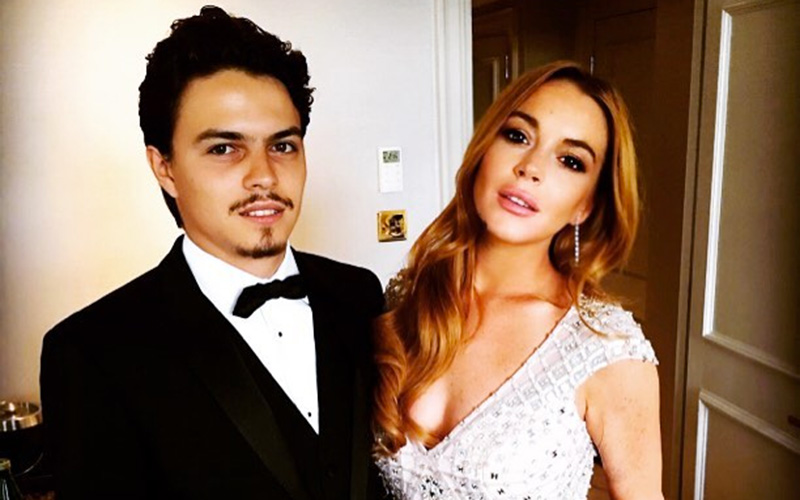 Lindsay Lohan Claims Fiancé Strangled & Tried to Kill Her, Aftermath of Incident Caught on Camera
