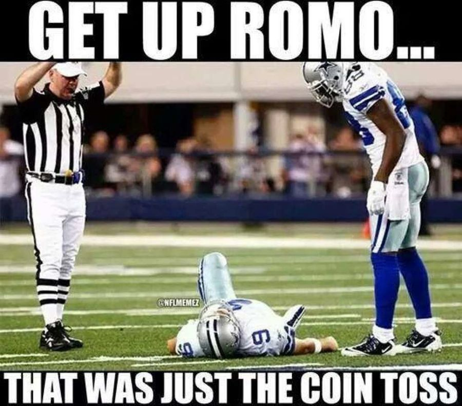 1472480361 ROMOmeme6 tony romo back injury memes the best of the internet's roast of,Tony Romo Memes