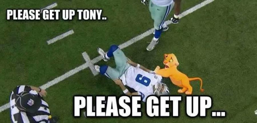 1472480537 ROMOmeme9 tony romo back injury memes the best of the internet's roast of,Tony Romo Memes