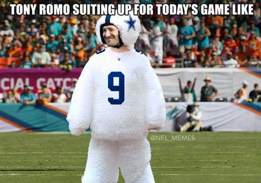1472481257 ROMOmeme14 tony romo back injury memes the best of the internet's roast of,Tony Romo Memes