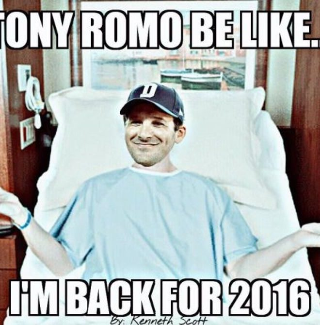 The Internet Roasted Tony Romo With Hilarious Memes After He Broke