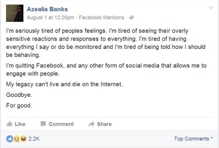 Banks-Facebook