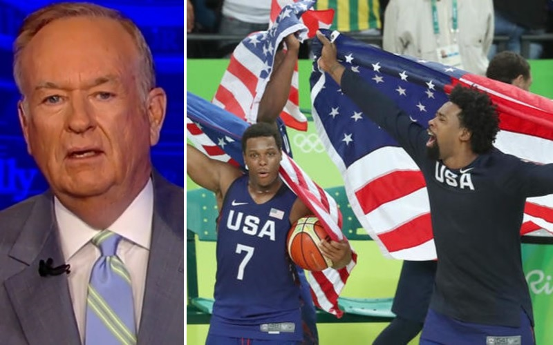 """Bill O'Reilly Says All-Black USA Basketball Team's Gold Medal Is Due to the Opportunities America """"Afforded"""" Them"""