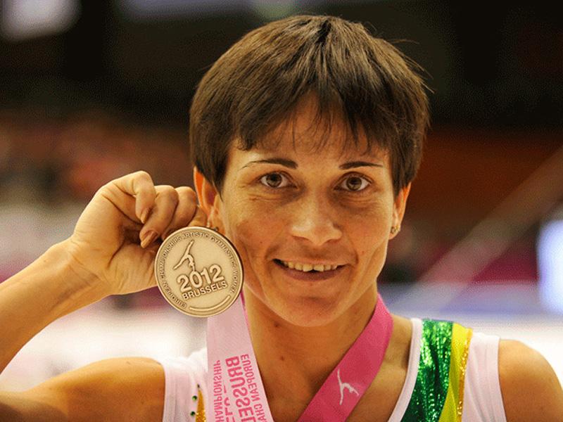 Meet The 41 Year Old Olympic Gymnast Oksana Chusovitina