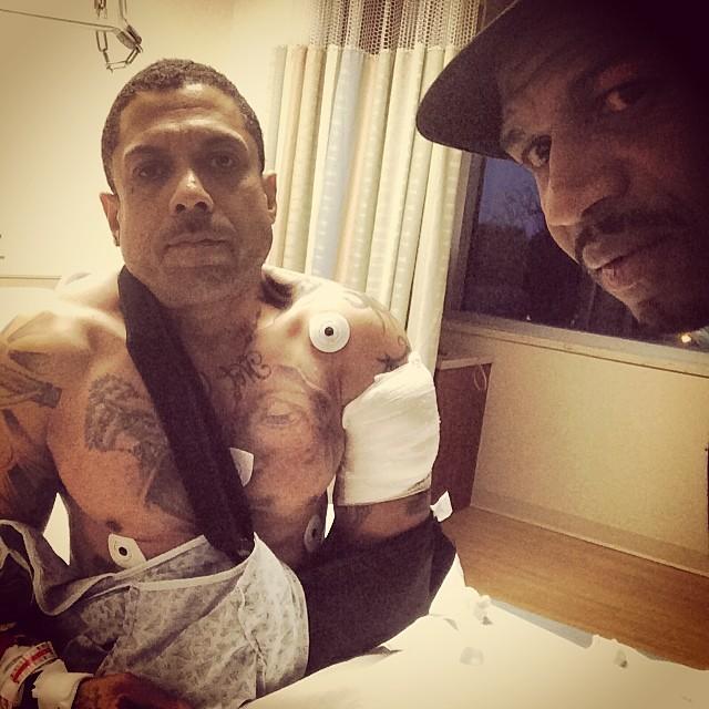 benzino-stevie-j-hospital-selfie