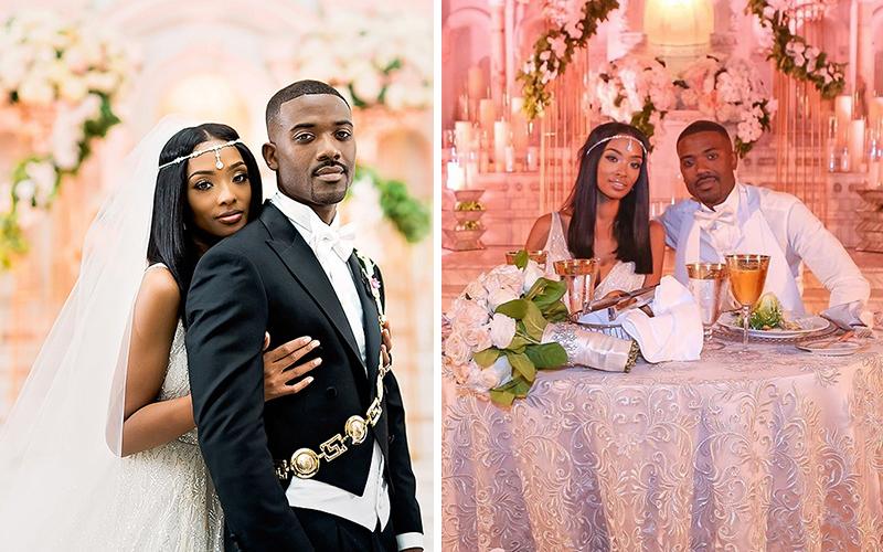 Ray J & Princess Love Wedding Photos: Love & Hip Hop Hollywood