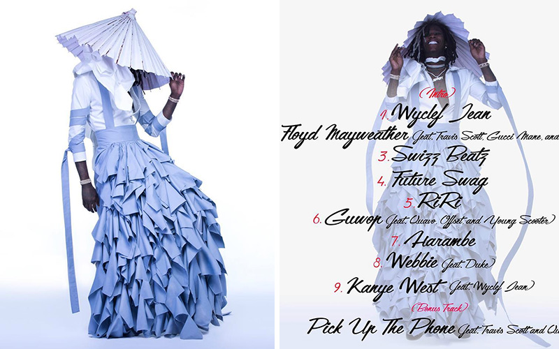 "Young Thug Puts On a Divine Dress for ""Jeffery"" Mixtape Cover"