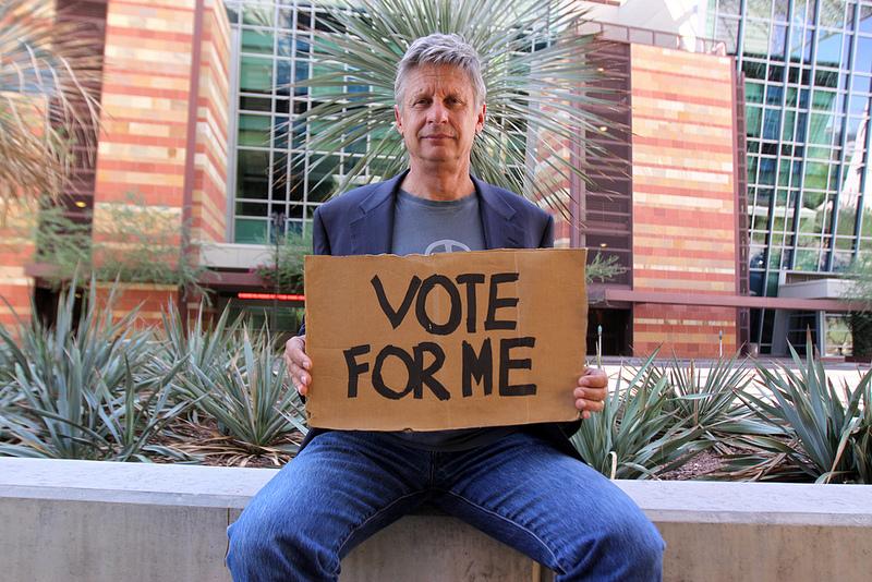 5 Times Presidential Hopeful Gary Johnson Has Looked Like a Fool