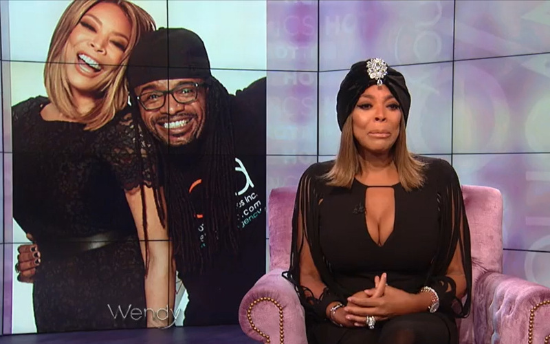 Watch: Wendy Williams Cries While Paying Tribute to \