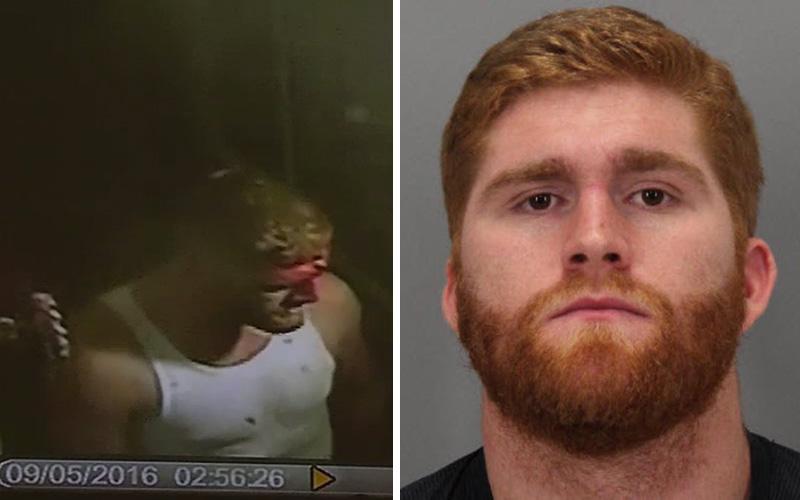 Ex 49er was in sandwich fight before later assault arrest