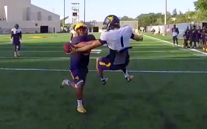 odell who college freshman makes unreal one handed catch