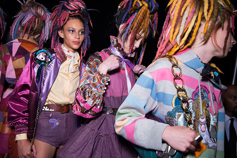 Marc Jacobs Sends White Models Down Runway With Faux ...